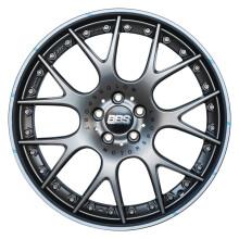 BBS CH-RII款式轮毂 德国原装进口 9x20英寸 亚光铂金色 CH653宝马3系5系X3X4M3M4M5特斯拉