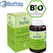 BioPraep德国原装进口有机辣椒素胶囊德国直邮 德国直邮