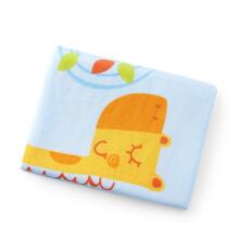 京东超市全棉时代 隔尿垫婴儿纱布片印隔尿垫 90*70cm 黄色长颈鹿 1条装