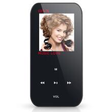 欧恩(ONN)Q2 4G 迷你MP3播放器无损音质 支持电子书 收音机 录音 黑色