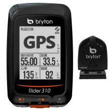 百锐腾Bryton R310码表套装版含踏频器 GPS无线山地公路自行车骑行码表蓝牙高度计