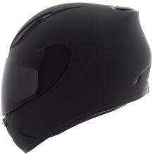 YOHE 991摩托车头盔男女个性酷赛全盔冬季保暖全覆式跑盔 磨砂黑 XL码