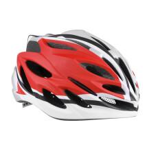 永久 FOREVER 永久骑行头盔一体成型坚固耐用男女士学生式防护头盔 红色 厂家发货