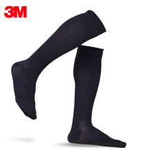 3M 护多乐小腿袜高强度男士加压弹力袜 小腿防护 L