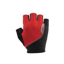 捷安特(GIANT) 运动立体剪裁轻薄透气山地车自行车系列短指手套 简途-黑红 XL