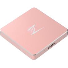 朗科(Netac)Z2 256G USB3.0 移动SSD固态硬盘 便携式存储 玫瑰金