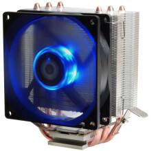 ID-COOLING SE-903 多平台塔式侧吹CPU散热器 三热管9cm蓝色LED灯风扇