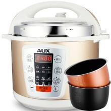 奥克斯(AUX)电压力锅5L Y505SD 双胆 高压锅