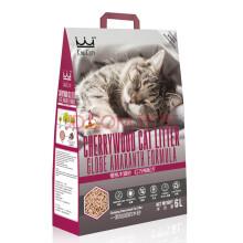 King Kitty 顽皮猫砂强力除臭吸水低尘成猫幼猫天然环保樱花木猫砂 原木配方6L 樱桃原木配方6L