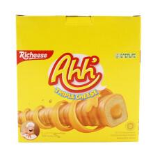 印度尼西亚进口  丽芝士(Richeese) 雅嘉奶酪玉米棒160克6.9元(9.9元,满99-30)
