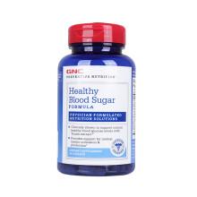 美国进口GNC健安喜肉桂片胶囊辅助降血糖辅助降血压配方保健品 降血糖配方