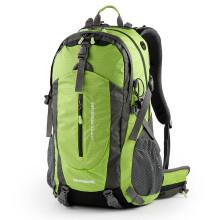 SWISSGEAR 户外男女减负登山包 防泼水耐磨运动休闲双肩包 多功能旅行背包带防雨罩 绿色 50L