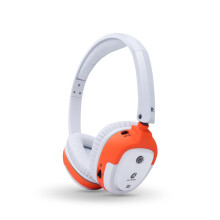 ALTEAM我听 RFB-941蓝牙耳机头戴式运动无线音乐耳机立体蓝牙音效耳机 白橘色