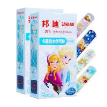 强生邦迪 BAND-AID 卡通防水创可贴  冰雪奇缘系列 创口贴 8片*2盒