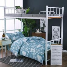 月语家纺 三件套学生宿舍床单被套寝室上下铺床上用品单人套件 甜蜜咖啡 1.2米三件套(适用被子1.5*2.0米)