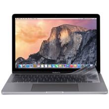 Moshi摩仕 新款苹果笔记本键盘膜MacBook Pro保护贴膜适用于新款13/15英寸touch bar型号 ClearGuard 透明