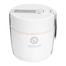 阿司倍鹭(ASVEL)保温饭盒304不锈钢 小号双层保温便当盒午餐盒 白色590ML