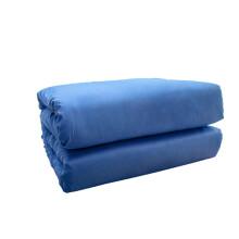 福花家纺   三件套宿舍蓝色1.2米床单人三件套被套160*210