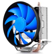 九州风神(DEEPCOOL) 玄冰智能 CPU散热器(风冷/多平台/2热管/预涂导热硅脂/静音风扇)