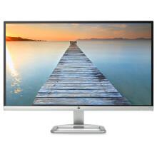 惠普(HP)27ES 27英寸纤薄 IPS FHD 防眩光 178度广视角 色彩增强 LED背光液晶显示器(黑色)