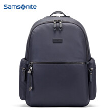 Samsonite/新秀丽双肩包 潮流女包百搭女韩版潮流背包34N*45015灰紫色