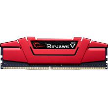 芝奇(G.SKILL) Ripjaws V系列 DDR4 3000频率 16GB 台式机内存(法拉利红)