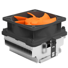 超频三(PCCOOLER)甲壳虫Q82 CPU散热器(多平台/8cm静音风扇/下吹式/附带硅脂)