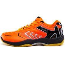 川崎Kawasaki 羽毛球鞋 舒适 透气 防滑 耐磨 运动鞋 绝影 橙色 36码