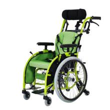 泰康轮椅儿童轮椅车折叠轻便便携航太铝合金多功能小孩儿童代步车 升级款/35cm座宽