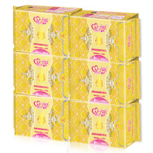 娜菲 卫生巾 澳洲茶树油精萃配方棉面卫生巾夜用两款组合 6包42片(夜用8片*3+加长6片*3)
