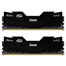 十铨(Team) 冥神系列 高频 DDR3 2400 16G(8Gx2套条) 台式机内存
