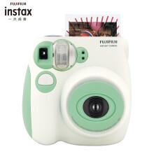 富士INSTAX 立拍立得 一次成像相机 mini7s 相机 薄荷绿