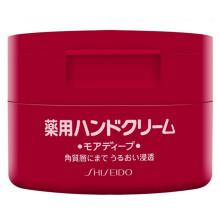 全球购              日本进口 资生堂(Shiseido)尿素深层滋养护手霜护足霜 补水保湿 滋养润白 改善粗糙 100g 红罐 男女通用