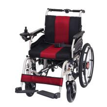 泰康 电动轮椅车折叠轻便旅行轮椅老年人残疾人病人老人电动代步车 46A12 22寸后轮
