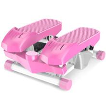 双超 suncao s071静音家用减肥迷你脚踏机 滑轮踏步机 免安装 蜜桃粉