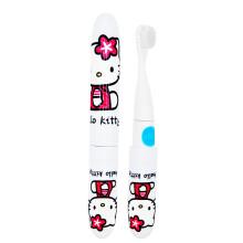 半兽人 儿童电动牙刷启动关闭二合一专用软毛刷防水耐摔牙刷 Hello Kitty款