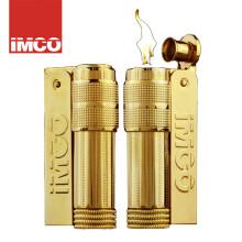 IMCO爱酷防风金属煤油打火机奥地利原创砂轮老式时尚复古IP全金木盒礼品烟具6700 logo标全金