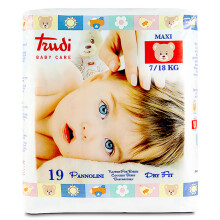 特鲁迪(Trudi)婴儿纸尿裤 大号L19片【7-18kg】 意大利原装进口