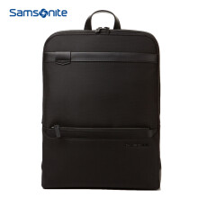 Samsonite/新秀丽双肩包笔记本电脑包书包男士商务休闲旅行包DF0 黑色