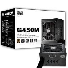 酷冷至尊(CoolerMaster)额定450W G450M游戏电源 (80PLUS铜牌/89%效能/模组电源/质保五年)