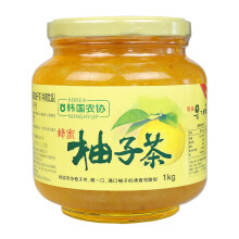 韩国进口 韩国农协 蜂蜜柚子茶1000g