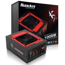 航嘉(Huntkey)额定1000W X7-1000电源(80PLUS铜牌/全模组/大电流/支持4卡)
