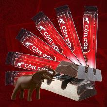 比利时进口Cote D'or克特多金象牛奶巧克力47g*6条