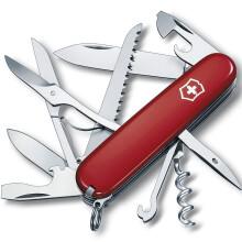 维氏VICTORINOX瑞士军dao 都市猎人(15种功能)红色光面1.3713