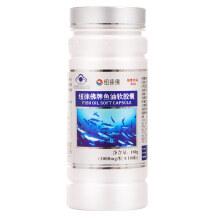 纽徕佛牌鱼油软胶囊1000mg/粒 深海鱼油欧米伽3DHAEPA调节血脂三高营养 180粒/瓶