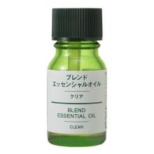 全球购              无印良品(MUJI) 日本MUJI无印良品超声波香薰机加湿器精油香薰灯香薰精油 清新香型-香精油10ml