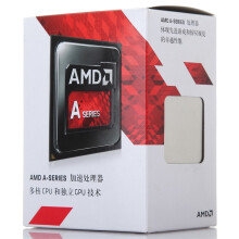 AMD APU系列 A10-7800 四核 R7核显 FM2+接口 盒装CPU处理器