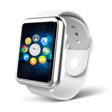 【送8G高速卡】掌航智能手表男女儿童电话手表手机安卓苹果拍照运动手环定位手表 时尚白(送8G内存卡)