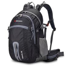 SWISSGEAR 登山包双肩 户外登山包28L配防雨罩 休闲运动双肩包电脑包14.6英寸 JP-3028Ⅱ黑色