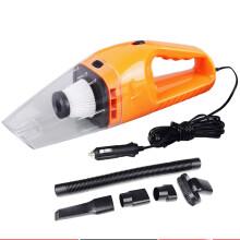 卡儿酷 车载吸尘器 车用家用干湿两用 12V大功率120瓦强吸力 车内吸尘 橙色
